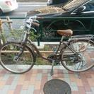 3段階ギア付き自転車