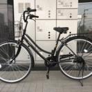 ★使用わずかな美品★ 丸石自転車 変速6段ギア・LEDオートライト...