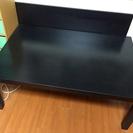 【取引終了】IKEA ローテーブル LACK ブラックブラウン