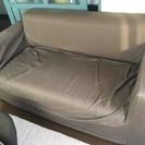 2.5人掛けソファとカバーのセット(1年使用)