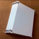 未使用品‼️無印良品ステンレスユニットシェルフ用・追加棚・ライトグ...