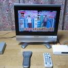 とりあえず安くテレビが見たい方に!シャープ15型TV+地デジチュー...