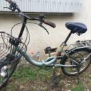 20型折りたたみ自転車[鍵付き]