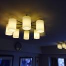 (交渉中)照明器具,ライト8ヘッド