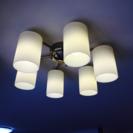 (交渉中)照明器具 ライト6ヘッド