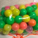 ボールプール用カラーボール110個!
