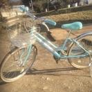 女の子用22インチ自転車  完全動作品 配達OK