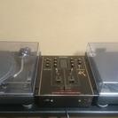 DJターンテーブルとミキサーセット!SL1200-MK3×2&SH...