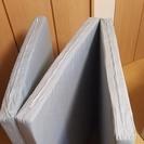 【終了】三つ折りマットレス(60mm厚)【1000円】