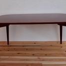 ダイニングテーブル 北欧デザイン ローズウッド柄