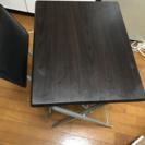 折りたたみ机と椅子セット