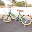 a.n.design works 子供用自転車16インチ補助輪・安...