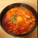 5月の韓国料理(スン豆腐チゲ)