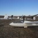 グライダーで大空を飛んでみませんか! 体験飛行だけでもどうぞ
