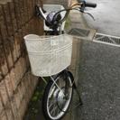 電動アシスト付き三輪自転車