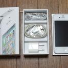 au iPhone 4S ホワイト(16G) 中古