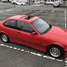 BMW 318ti コンパクト レザーシート サンルーフ 程度良好!