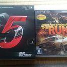 PS3  レース ゲーム セット