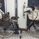 3人乗 電動自転車 ヤマハ PAS リトルモア 8.1Ah