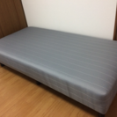 【交渉成立】脚付きシングルベッドマット【ニトリ】