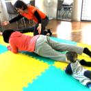 4月 産後の美骨盤ダイエット体験会 簡単体幹トレーニング(コアトレ...