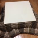 コタツ 白 テーブル