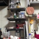 台所用突っ張り棚