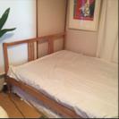 IKEA☆FJELLSE ベッドフレーム&マットレス