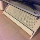 テレビ台 テレビボード テレビラック 白