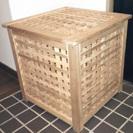 格子の収納箱 格子木箱 格子棚