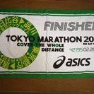 スポーツタオル 東京マラソン2016完走者限定タオル