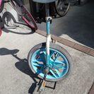 ブリジストン 一輪車 16インチ 水色