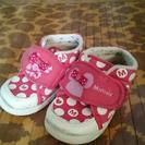 ♡ミニー♡ベビー靴♡🎀Pink🎀14センチ