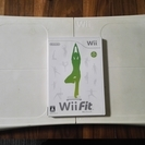 Wii用のWiiフィットとバランスボード(中古)無料