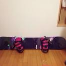 スノーボード 三点セット