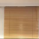 《3月末まで大特価》TOSO社製木製ブラインド x 2 (美品)