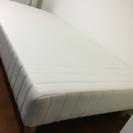 無印のシングルベッド