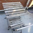 屋外用 テーブル椅子セット