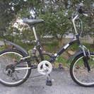 折りたたみ自転車(20インチ変速付き)