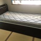収納付シングルベッド 【交渉中】