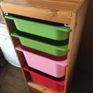IKEAイケア子供部屋収納ラック/収納棚