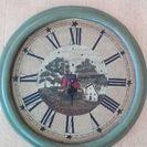 アンティーク&カントリー風壁掛け時計