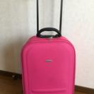 【値下げ】キャスター、スーツケース(1〜3泊用)