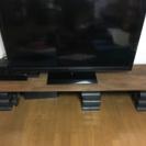 【値下げしました】木の板 テレビボード ローボード パソコン台