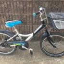 男児18インチ自転車【ブリヂストン】