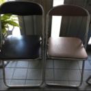 パイプ椅子  一部破損有