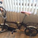 折り畳み自転車(修理必要)