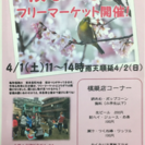 桜祭り&フリマ-ケット順延のお知らせ