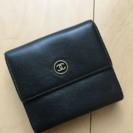 CHANEL正規店購入二つ折り財布