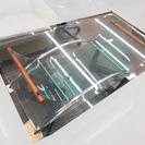 札幌 引き取り 中古 ガラステーブル デザイナーズ系 一部ワレあり